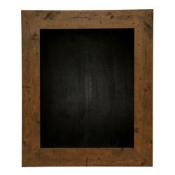 "24""W x 30""H Decorative Wood Framed Blackboard"