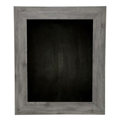 "36""W x 42""H Decorative Wood Framed Blackboard"