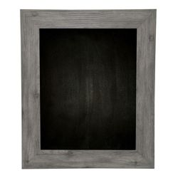 "36""W x 42""H Decorative Wood Framed Blackboard"