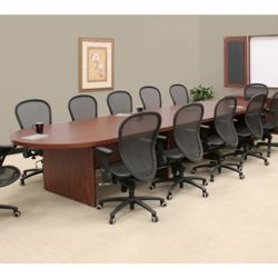 Oval Conference Table - 16'W