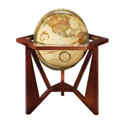 Frank Lloyd Wright Antique Globe with Tri-Stand