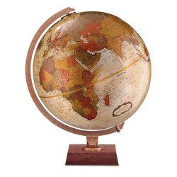 Bronze Metallic Desktop Globe