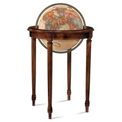 Regency Raised Relief Globe