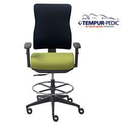 Tempur-Pedic® by raynor group companies Fabric Task Stool