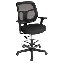 Apollo Mesh Drafting Stool