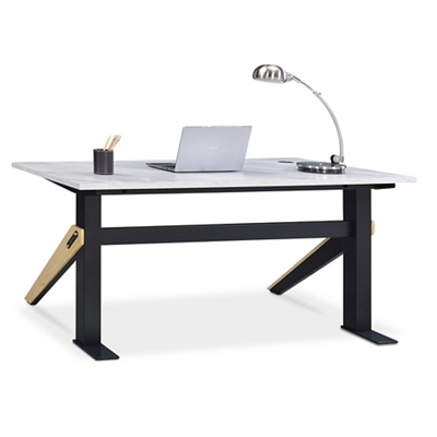 "Bend Writing Desk - 60""W x 27""D"