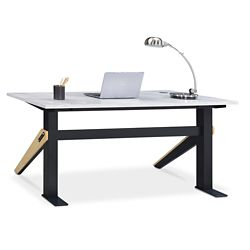 "Bend Writing Desk - 60""W x 27""D"