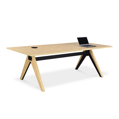 """Bend Conference Table - 87""""W x 40""""D"""
