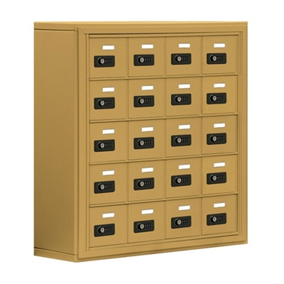 """30.5""""W x 31""""H 20 Compartment Cell Phone Locker with Combination Lock"""
