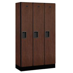 """Three Door Locker 64""""H x 15""""D"""