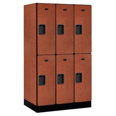 """Six Door Locker 64""""H x 21""""D"""