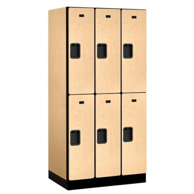 """Six Door Locker 76""""H x 21""""D"""