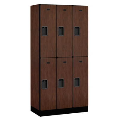 "Six Door Locker 76""H x 18""D"
