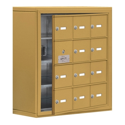 """24""""W x 25.5""""H 11 Door Cell Phone Locker with Key Lock and Access Panel"""