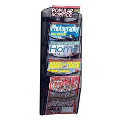 Five Pocket Magazine Rack