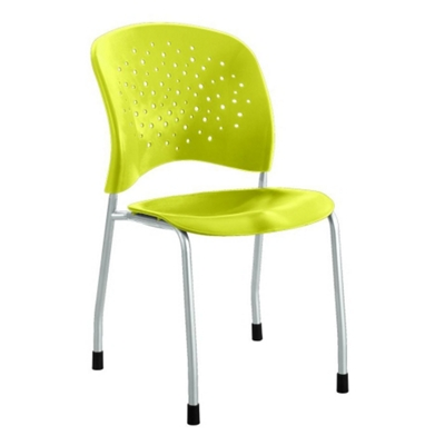 Plastic Guest Chair with Glides