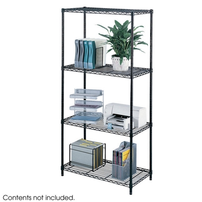 "36"" x 18"" Industrial Wire Shelving Unit"