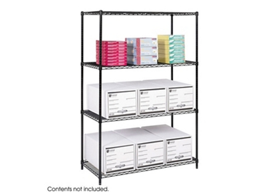 "48"" x 24"" Industrial Wire Shelving Unit"