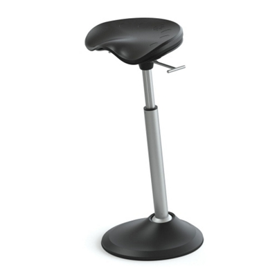 Perch Stool with Ellipse Base by Focal Upright