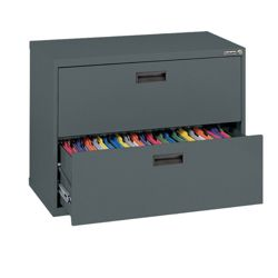 "30""W 2 Drawer Steel Lateral File"
