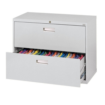 "36""W 2 Drawer Steel Lateral File"