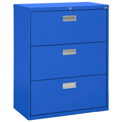 "36""W 3 Drawer Steel Lateral File"