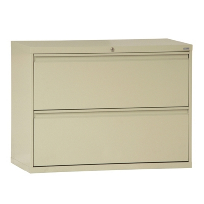 """36""""W 2 Drawer Steel Lateral File"""