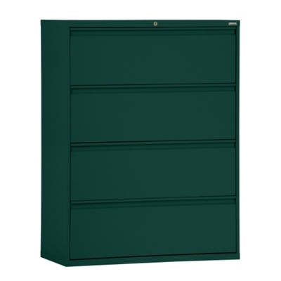 """36""""W 4 Drawer Steel Lateral File"""