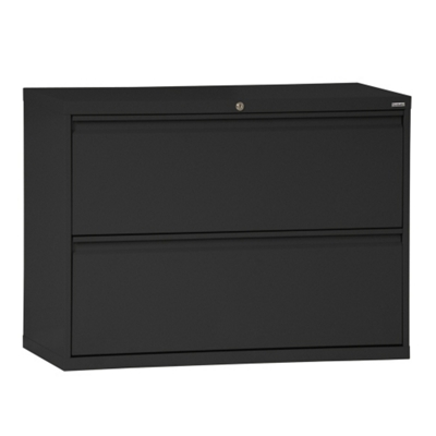 """42""""W 2 Drawer Steel Lateral File"""