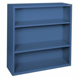 "42""H 3 Shelf Steel Bookcase"