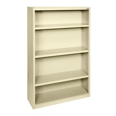 "52""H 4 Shelf Steel Bookcase"