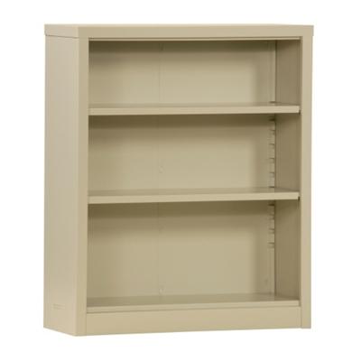 "42""H 3 Shelf Unassembled Steel Bookcase"