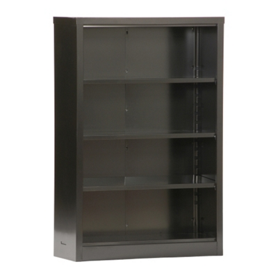 "52""H 4 Shelf Unassembled Steel Bookcase"