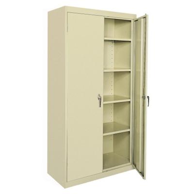 """5 Shelf Steel Storage Cabinet - 46""""W x 72""""H"""