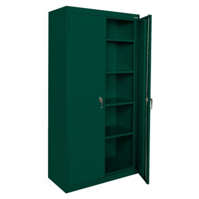 "5 Shelf Steel Storage Cabinet - 46""W x 78""H"