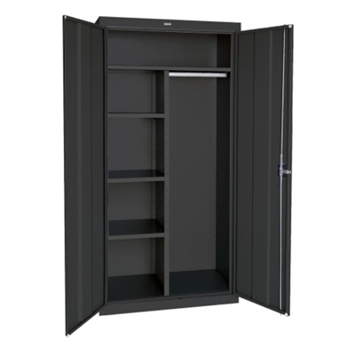 "Steel Combination Storage Cabinet - 36""W x 72""H"