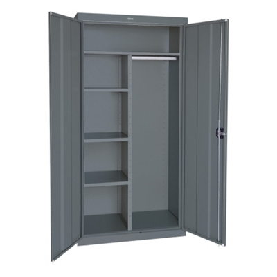 "Steel Combination Storage Cabinet - 46""W x 72""H"