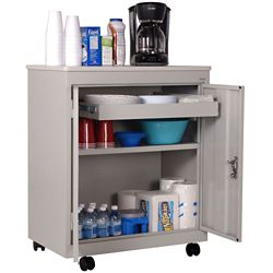"Mobile Refreshment Center Storage Cabinet - 30""W x 33""H"