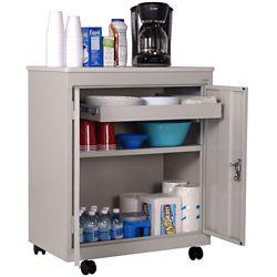 """Mobile Refreshment Center Storage Cabinet - 30""""W x 33""""H"""
