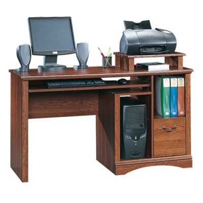 Computer Desk With Printer Shelf By Sauder Office Furniture