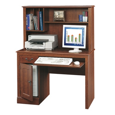 Computer Desk and Hutch Set