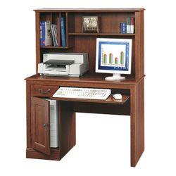 Computer Desk and Hutch Set