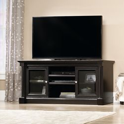 """Entertainment Credenza with Glass Doors - 60""""W x 19""""D"""
