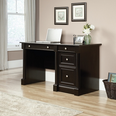 "Single Pedestal Computer Desk - 53""W"
