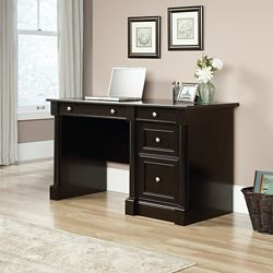 "Single Pedestal Computer Desk - 53""W"