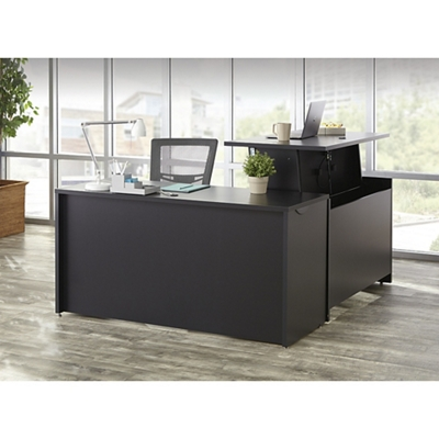 Adjustable Height L-Desk