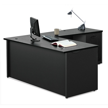 office desk l. compact l-desk - 60\ office desk l