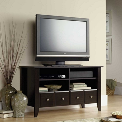 Flat Panel TV Stand with Drawers