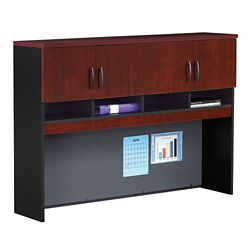 Credenza Hutch with Soft-Close Doors