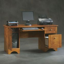 "Contemporary Computer Desk - 59""W x 23""D"
